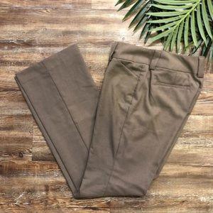 Gap curvy fit flare pants/slacks